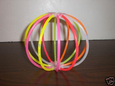 Two Pop Glo Glow Stick Balls ~~ Glows For Hours ~~ NEW