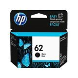 BRAND NEW HP 62 Black GENUINE Ink Cartridge (C2P04AN),Exp July 2019 , FAST SHIP