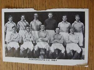 1948-1949-Sporting-Mirror-Cut-Out-Portsmouth-Team-Group-3-x-5-No-obvious