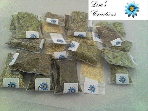 20 - 1/2 Ounce Herbs Money and Prosperity Kit w/charcoal wicca pagan spells