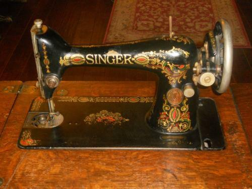 Old Singer Sewing Machine EBay Beauteous How Much Are Old Sewing Machines Worth