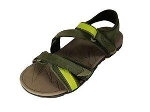 Vibram Muir Women US 5 Green Olive Sport Sandal Hiking Vionic Orthaheel