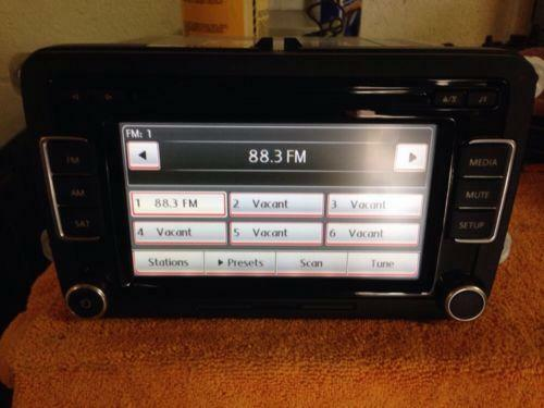 vw golf radio parts accessories ebay. Black Bedroom Furniture Sets. Home Design Ideas