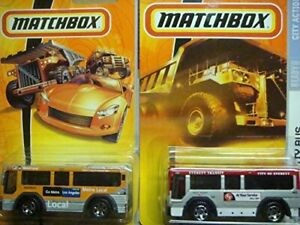 MatchBox Bus toy cars