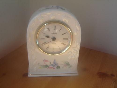 Aynsley Clock Ebay