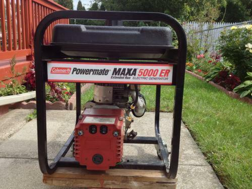 coleman pulse 1750 generator manual