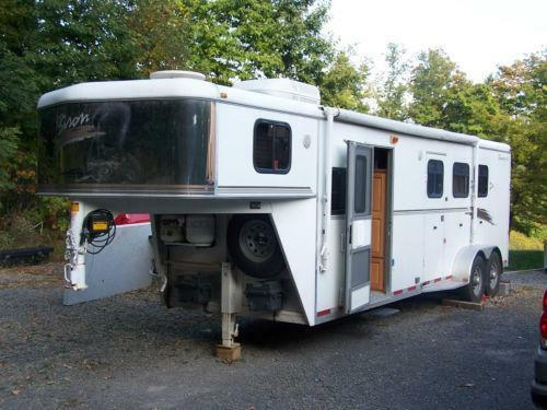 Horse Trailer Living Quarters Ebay