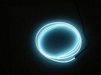 1 Meter Kein LED EL Ambientebeleuchtung Innenraumbeleuchtung Lichtleiste Weiß
