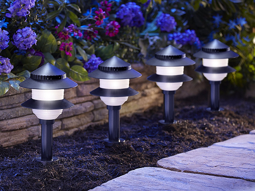Path Lighting Set Garden Stake Lights