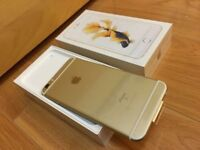 APPLE IPHONE 6S 64GB GOLD ON O2 NETWORK