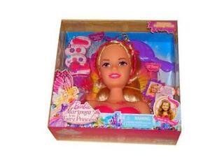 Pleasing Barbie Styling Head Doll Short Hairstyles Gunalazisus