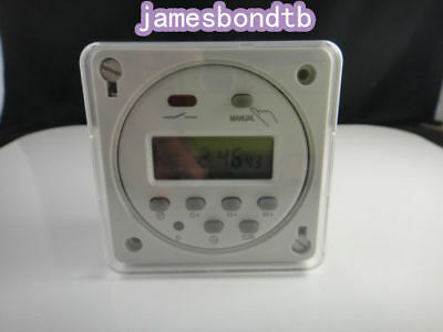Rainproof Digital Programmable Timer Switch Relay With Weather Proof Box