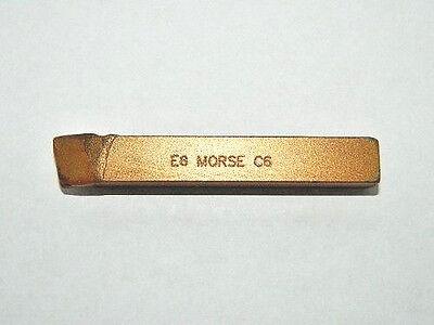 12 Carbide Tipped Threading Lathe Tool Bit 60 Degree E8-c6 Usa Mct 73719 G13