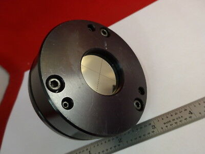 Auto Collimator Target Mirror Crosshair Head Optics Part As Is 2-a-06