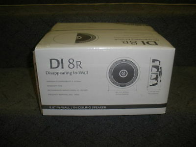 Definitive Technology DI 8R Brand New  In Wall/ Ceiling Speaker DI8R Single