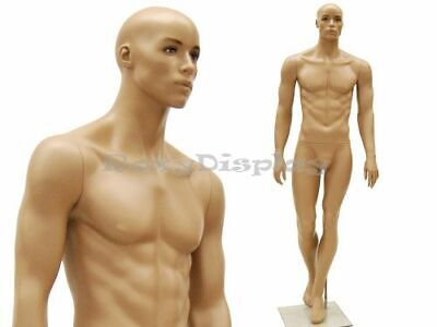 Male Mannequin Realistic Style Dress Form Display Mc-mik07a