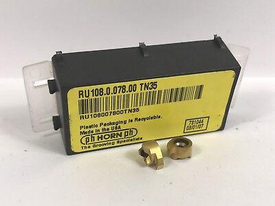 Ph Horn Ru 108.0.078.00 New Carbide Inserts Grade Tn35 2pcs Ab