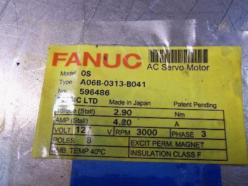 Fanuc A06b-0313-b041 Ac Servo Motor [pz4]