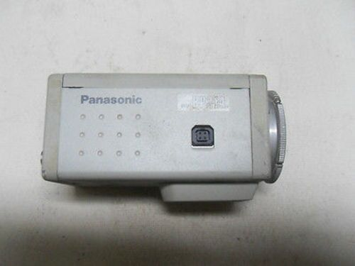(M6-2) 1 PANASONIC WVBP314 CAMERA