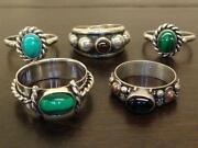 Sterling Ring Lot