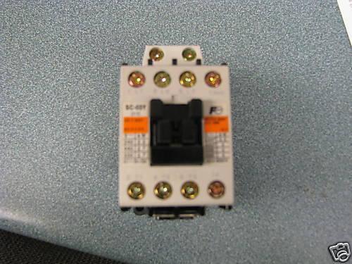 Fuji 20 Amp Contactor, Cat# 4NCOA#10Y