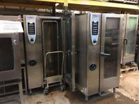 Rational SCC Gas 20 Grid fully serviced 4 in stock with trolly