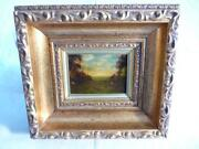 Antique Framed Oil Painting