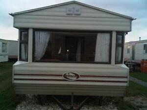 Creative Bed Static Caravan Unserviced Plot Haven Thorpe Park Cleethorpes