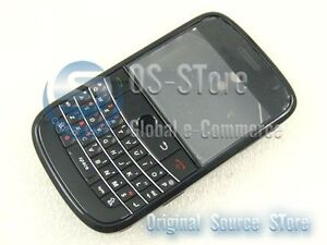 BlackBerry Bold 9000 Full Housing Case Faceplate Black