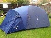 Vango Stealth 300 Geo Tent Sleeping Bags Accessories Lamp Ground Mat Holiday