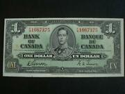 Canadian 1 Dollar Bill