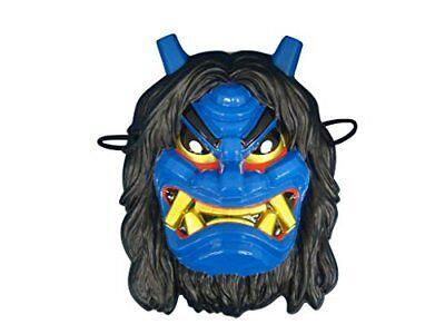 Mask Omen Japanese Namahage Blue