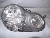 vw polo drivers os front headlight 2003 model wanted