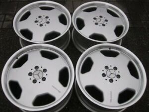 "RARE - Genuine Mercedes AMG Monoblock 19"" rims in showrm cond"