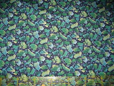 Kona Kona Bay Bay (Patchwork Quilt Stoff - Kona Bay Steine grün blau (14,- €/m))