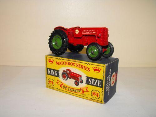 Matchbox King Size Tractor Ebay