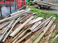 *** FREE WOOD PLANKS AND WOOD SCRAPS - IDEAL FOR FIRE ***