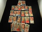 Football Cigarette Cards Sets