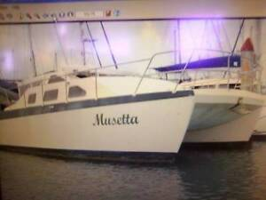 28' Catamaran on Gippsland Lakes Paynesville East Gippsland Preview