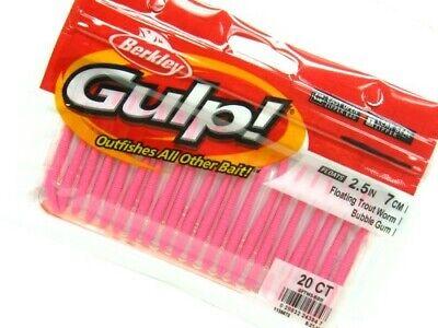 "1//2/"" Pinched Crawler Berkley Gulp GHPC1-BGM Gulp Item H 76 Bubblegum"