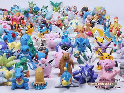 24PCS Wholesale Lots Cute Pokemon Mini Random Pearl Figures New Hot Kids Toy New - Wholesale Pokemon