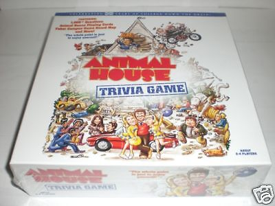 USAopoly Animal House Adult Trivia Game 2-4 Players - Adult Trivia Games