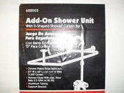 Clawfoot Tub Shower Kit