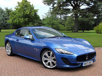 Maserati GT for hire £280 per day