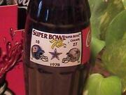 Super Bowl Coke Bottles