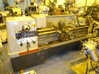COLCHESTER MASCOT 1600 GAP BED CENTRE LATHE 80 INCH CENTRES