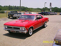 car not for sale 1966 Chevelle 2 dr  split bench seat interior