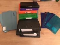 Box of 9 A4 Files and Mix of Folders