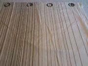 Brown Stripe Curtains