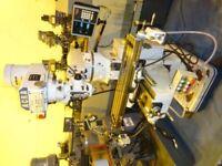 ACRA MODEL FVTM - 2V TURRET MILLING MACHINE R8 DRO YEAR 2001